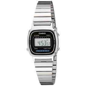 Reloj Mujer Casio La670wa-1 Daily Alarm Digital Watch