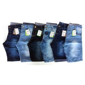 Kit De 5 Shorts Jeans Infantis Masculinos Baratos Em Atacado