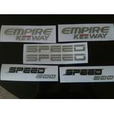 Kit Calcomanias Moto Speed 200 Empire Keeway