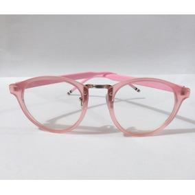 Armação De Oculos Feminino Para Rosto Oval - Óculos Rosa no Mercado ... 47311f2bfe