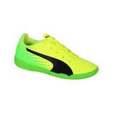 Zapato Puma Futbol Evospeed 17.5 Ic Niño - Amarillo / Verde
