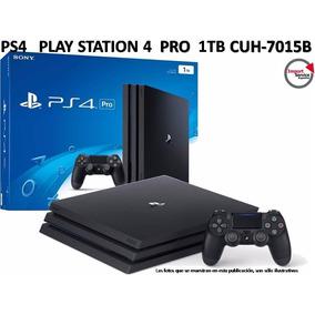 Ps4 Play Station 4 Pro 1tb Cuh-7015b + Joystick