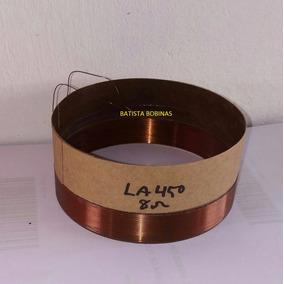 Bobina Para Alto Falante Oversound La12 450 Pro 8r In/out