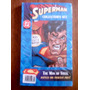 Superman Collector Set Steel-includes 6 Issues+trading Card