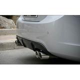 Difusor De Aire Trasero Con Doble Escape Chevrolet Cruze