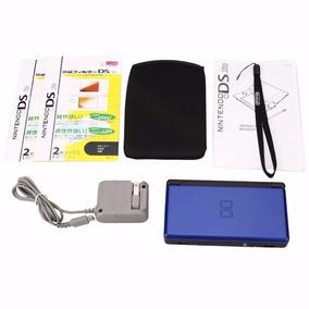 Videogame Nintendo Ds Lite Cobalt Blue + Película + Bolsa