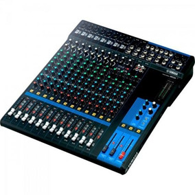 Mesa De Som Analógica 16 Canais Mg16 Yamaha