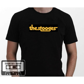 Camiseta The Stooges Iggy Pop Punk Hardcore Rock Indie Goth