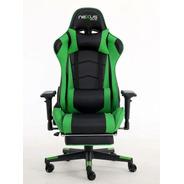 Cadeira Gamer Nexus Scorpion D418-dr Gamer Pro Preto E Verde