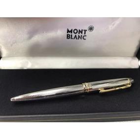 Kit De 3 Caneta Mont Blanc Meisterstuck Esferográfica!!!