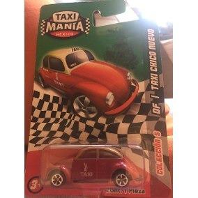 Taximania Vocho Taxi Df.
