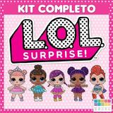 Kit Imprimible Lol Surprise Cotillón Temático Candy Bar 2x1