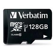 Tarjeta De Memoria Micro Sd 128 Gb Clase 10 Verbatim 44085