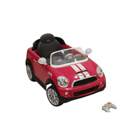 Carrito Electrico Montable Mini Cooper 2017 Rosa