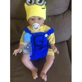 Bebê Reborn Menino Minions Pronta Entrega Fotos Reais