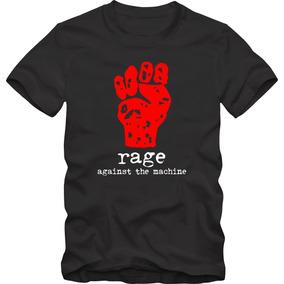 Rage Against The Machine Camiseta Tradicional T-shirt