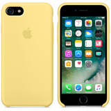 Funda Iphone 7 Y 7 Plus Amarillo - C2