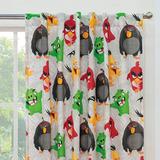 Juego De 2 Cortinas Angry Birds Vanney Chavos Envio Gratis