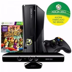 Xbox 360 4gb + 1 Controle S/ Fio Semi Novo + 30 Jogos