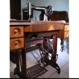 Maquina De Costura Leonam Antiguidades
