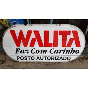 Placa Linda Antiga Acrílico Walita