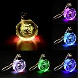 Llavero Led Bts Cristal Muticolor Kpop Coreano Cambia Color