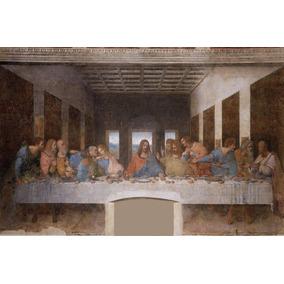 Lienzo Tela, La Última Cena, Leonardo Da Vinci, 60x90cm