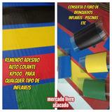 Remendo Auto Colante Kp100 P/brinquedos Inflaveis E Piscinas
