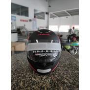 Capacete Honda Hfs Hg Samurai Preto Fosco