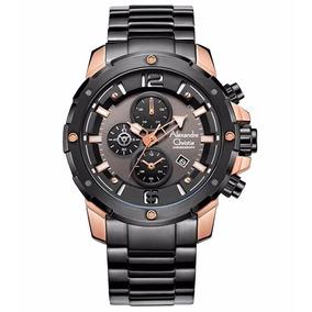 Reloj Alexandre Christie Sport Crono Steel 6410mcbbrba