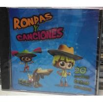 Cd Rondas Y Canciones 20 Éxitos Infantiles Nuevo+cd Regalo