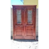 Puerta Estilo Antiguo Doble Hoja Grandis Beraldi Aberturas