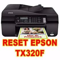 Reset Epson Tx320f (contador + Almofdas) Tutorial E Suporte