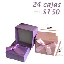 Caja De Regalo Para Dije Bisuteria Anillos Oro Plata 24 Pza