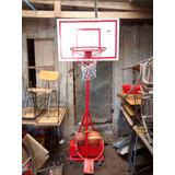 Aro De Basketbol Con Pedestal Ajustable