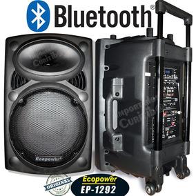 Caixa Ativa Ep1292 Ecopower 450rms + Bluetooth + Frete
