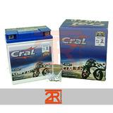 Bateria Moto Cral Suzuki Yes 125 04 7ah 12v Clm7d