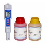Medidor Ph Temperatura Akrom Kr21 + Ph 4.00 + Ph 7.00 (nf-e)