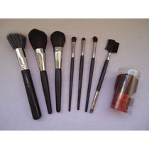 Kit 8 Pincel Mary Kay Bourjois Bronzer Olhos Face Duo Fiber