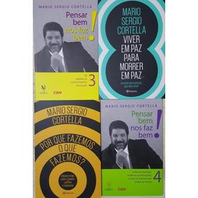 Livro Kit Mário Sérgio Cortella - 4 Volumes