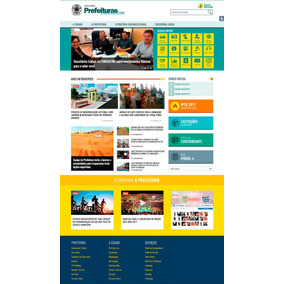 Site Para Prefeituras + Fala Cidadão