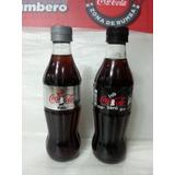 Coca Cola - Set De 2 Botellas De Coleccion