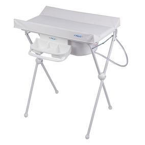 Banheira Para Bebê C/ Trocador Branca