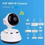 Camara Wifi Ip Nocturna Audio Hd Motorizad Sd Iphone Android