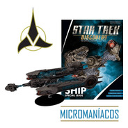Klingon Sarcophagus Ship Star Trek Eaglemoss - Frete Grátis