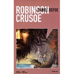 Livro Hq Robinson Crusoe - Daniel Defoe