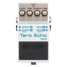 Pedal De Guitarra Boss Tera Eco Te-2 - Ambiência Estéreo