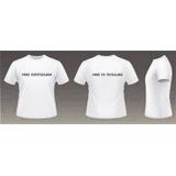 Remeras Personalizadas (pone Tu Foto/logo) Personalizadas