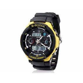 129d679ef74 Relógio Digital Analógico Alike G Shock Sports - Relógios De Pulso ...
