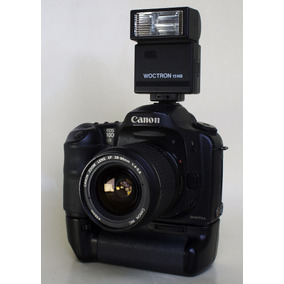 Cámara Canon 10d Con Lente Canon 35-80mm Flash Memoria Y Mas